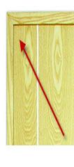 Bites de madeira maciça