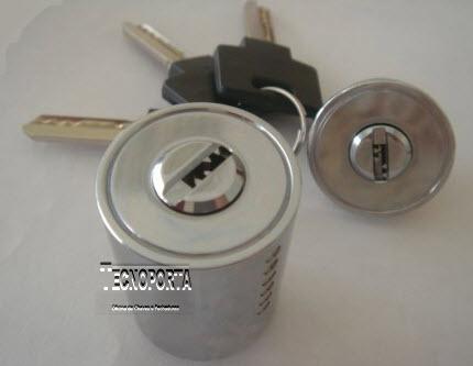 Canhão com chaves de pontos para fechaduras Cifial