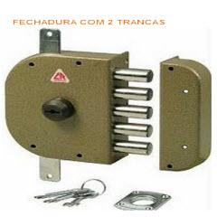 Fechaduras cr com 2 trancas e chaves de bomba