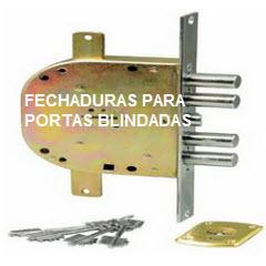 Fechaduras CR para portas blindadas