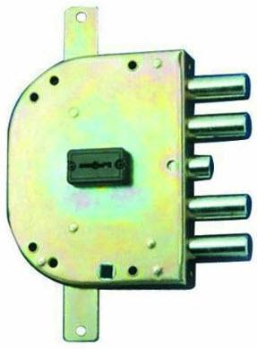 Fechadura CR com chaves de duplo palhetão e sistema anti gazua