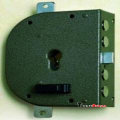 fechadura CR para instalar em portas de ferro e madeira com sistema de cilindro