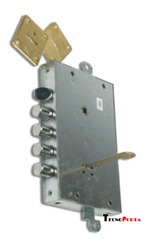 fechadura cr para conversões de portas blindadas Dierre
