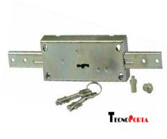 fechadura cr para portas onduladas com 2 trancas verticais