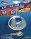 cdeados corbin modelo disco vendido em blister para exportação