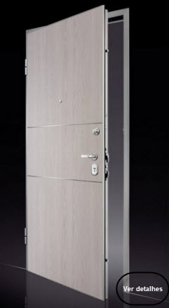 Veja mais informações sobre este modelo de porta blindada, clique na imagem