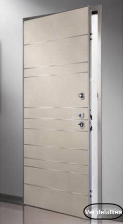 clique na imagem e leia mais informações sobre as portas blindadas okey modelo Monako