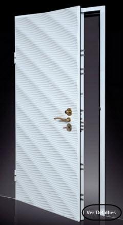 clique na imagem e leia mais informações sobre as portas blindadas okey modelo Alikante