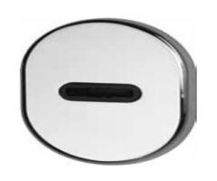 espelho em cromado para chaves de duplo palhetão
