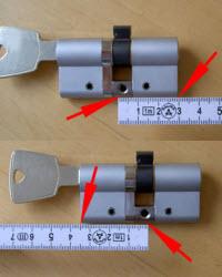 tirar as medidas do cilindro antes de comprar outro