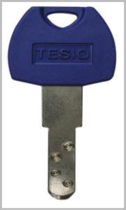 Chaves especiais Tesio