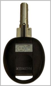 Chaves electrónicas Zikon