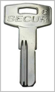 chaves de pontos SECUR 6