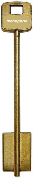 chaves cisa de duplo palhetão em latão