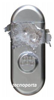 Escudo Blindado em Aço