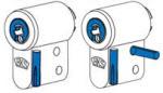 placas de aço cravadas no canhão