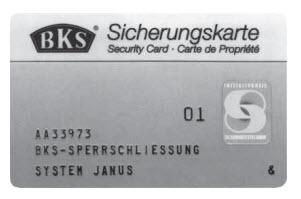 cartão de propriedade