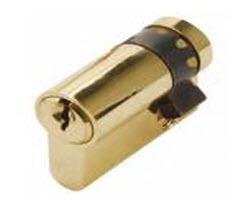 meio cilindro securemme com chaves normais de 4 pinos