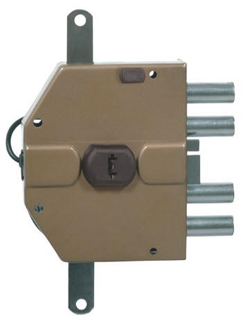Fechadura Viro com sistema de chaves de bomba com trinco eléctrico incluido