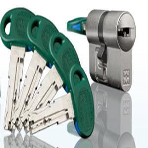 Cilindro de segurança Mottura com sistema de chave C48