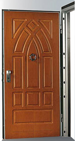 Porta Blindada Tesio modelo Basic 2