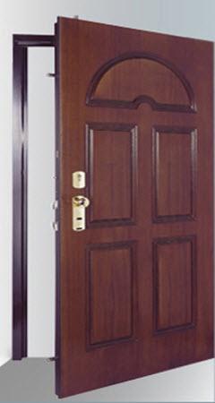 porta blindada tesio. modelo reversível