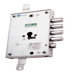 Fechadura mottura para portas blindadas dierre com sistema de cilindro