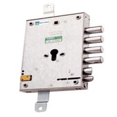 Fechadura para portas blindadas dierre cm função e trinco eléctrico incluído na fechdura