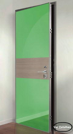 clique na imagem e leia mais informações sobre a porta blindada okey modelo Kapri