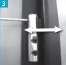 Parafuso para afinar a porta blindada na largura total. Se o seu chão tem um desnível tipo onda… este parafuso é o ideal para ajustar a porta, sem mexer na altura do aro. A dobradiça de CIMA AJUSTA A PORTA JUNTO AO CANTO INFERIOR ESQUERDO. A dobradiça de baixo AJUSTA A PORTA JUNTO AO CANTO INFERIOR DIREITO…