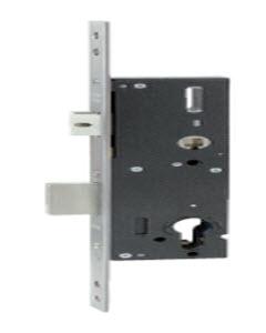 Fechadura para portas de aluminio 92 m/m