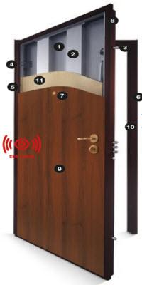 porta blindada gardesa com alarme incluido