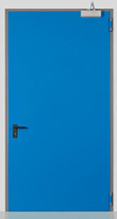 porta corta fogo com mola